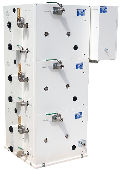Connexions du générateur vapeur MA 180